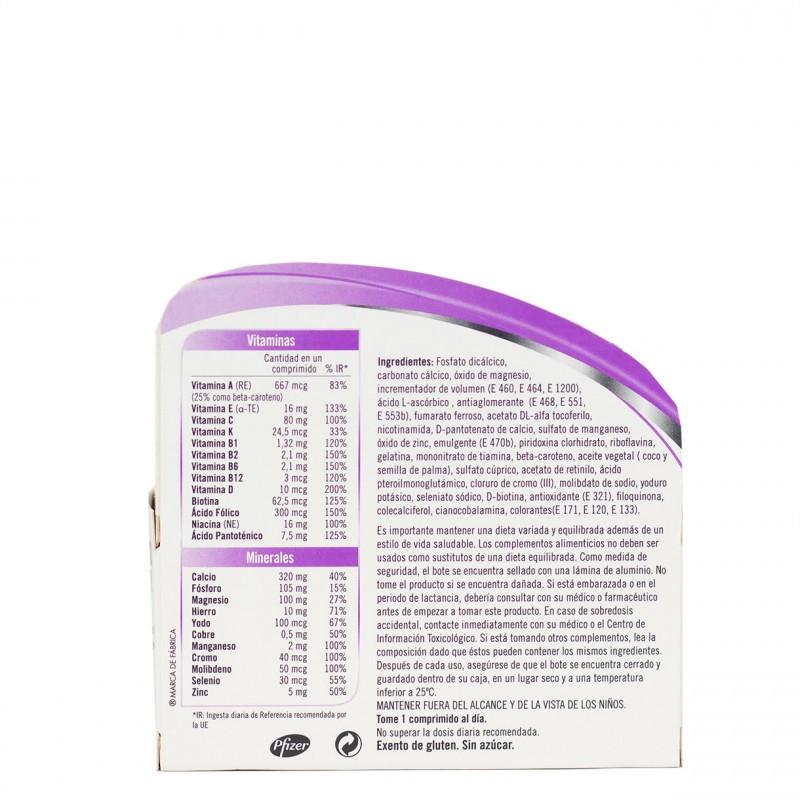 Multicentrum mujer 90 comprimidos-Farmacia Olmos