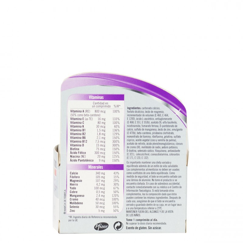 Multicentrum mujer 50+ 30 comprimidos-Farmacia Olmos
