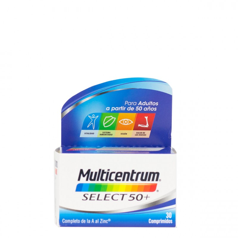 Multicentrum select 50+ 30 comprimidos-Farmacia Olmos