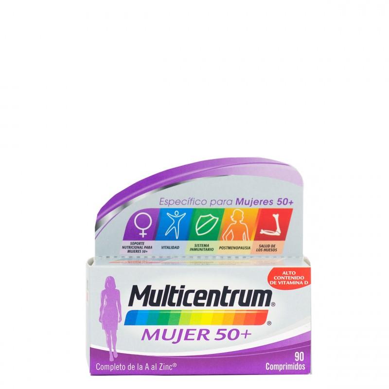 Multicentrum mujer 50+ 90 comprimidos-Farmacia Olmos