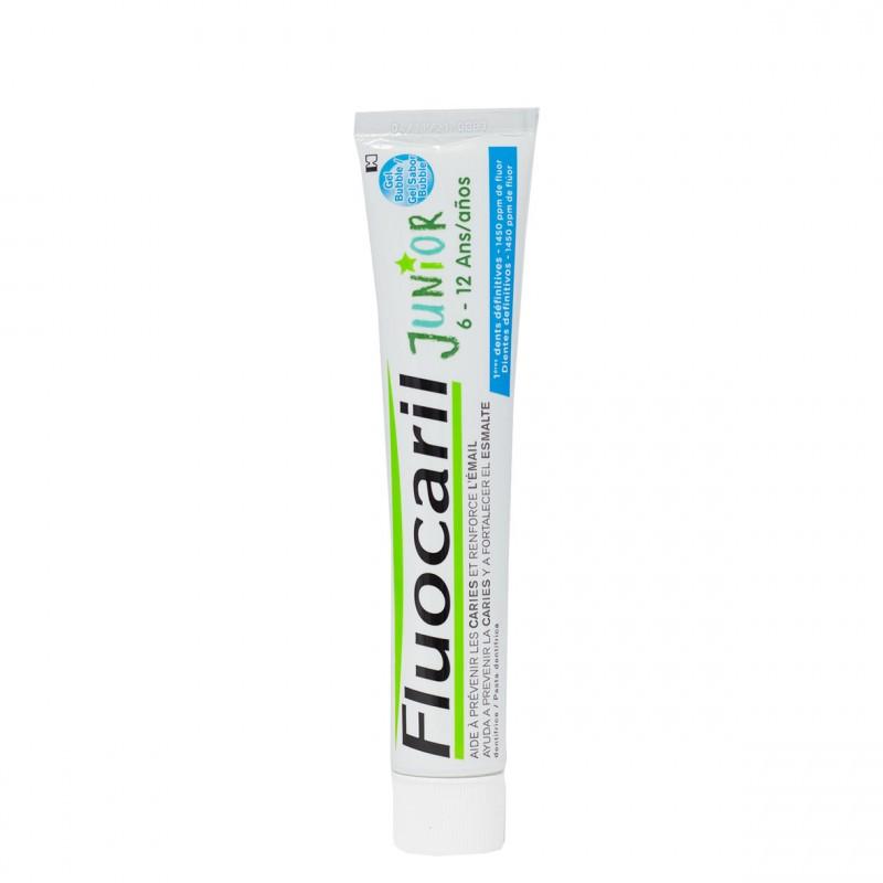 Fluocaril junior 6-12 años gel 75ml bubble-Farmacia Olmos
