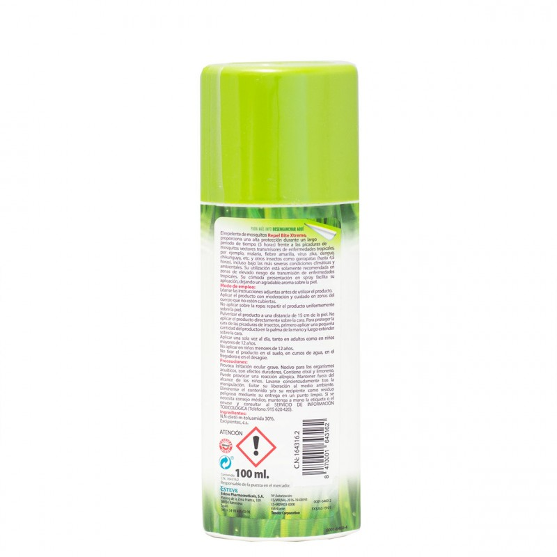 Repel bite xtrem spray 100ml - Farmacia Olmos