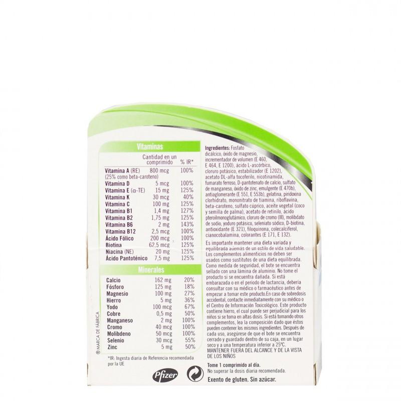Multicentrum 30 comprimidos-Farmacia Olmos