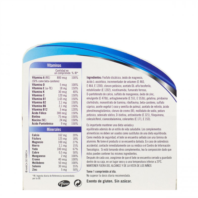 Multicentrum select 50+ 90 comprimidos-Farmacia Olmos