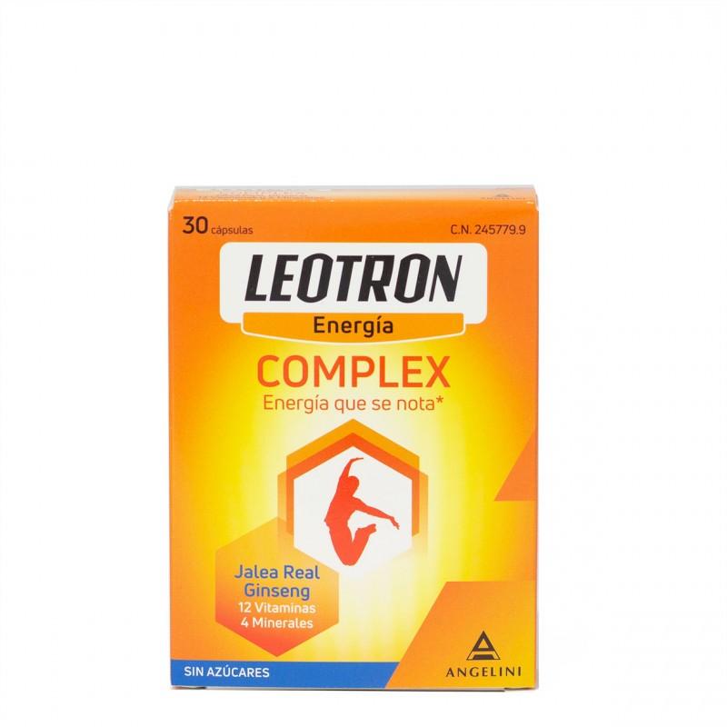 Leotron complex 30 capsulas-Farmacia Olmos