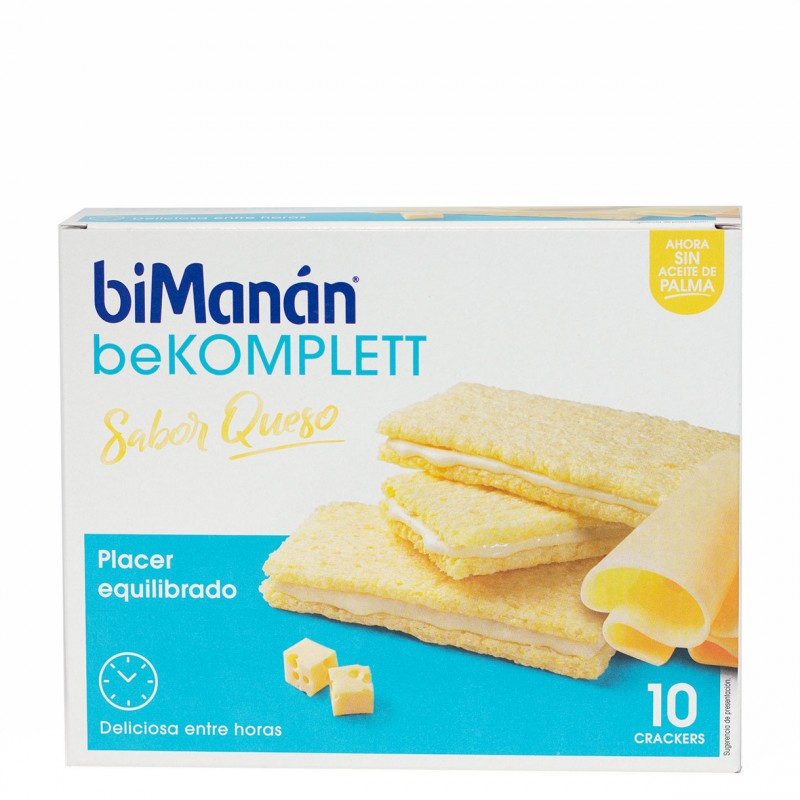 Bimanan be komplet crackers queso 10 unidades-Farmacia Olmos
