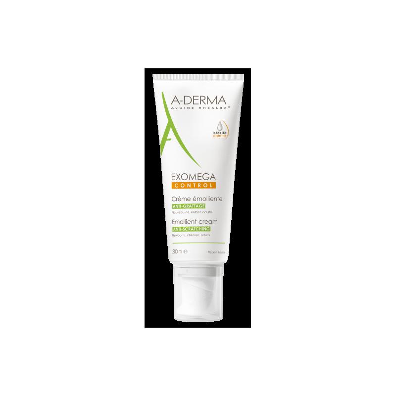 A-derma exomega crema emoliente 200ml-Farmacia Olmos