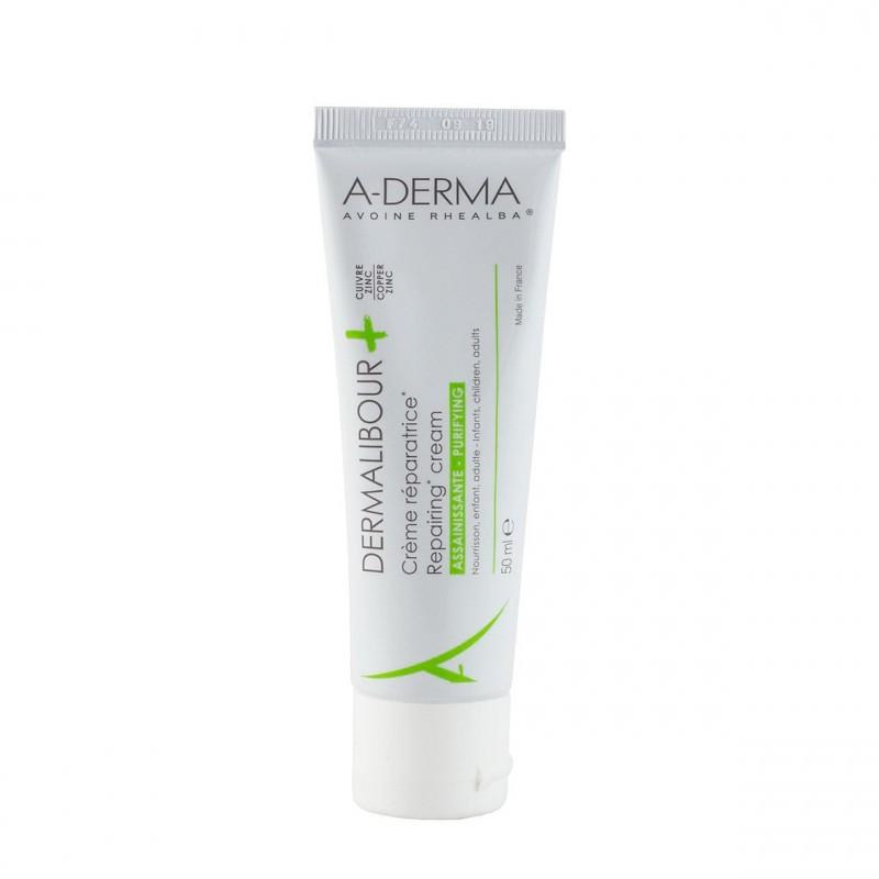 A-derma dermalibour+ crema reparadora  50ml - Farmacia Olmos