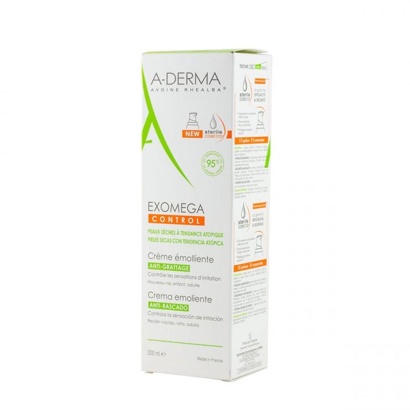 A-derma exomega crema emoliente 200ml - Farmacia Olmos