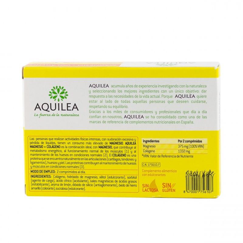 Aquilea magnesio+colageno 30 comprimidos masticables - Farmacia Olmos