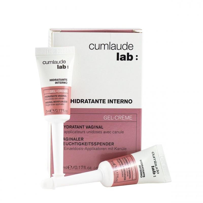 Cumlaude lab: hidratante interno gel-crema 6 unidosis-Farmacia Olmos