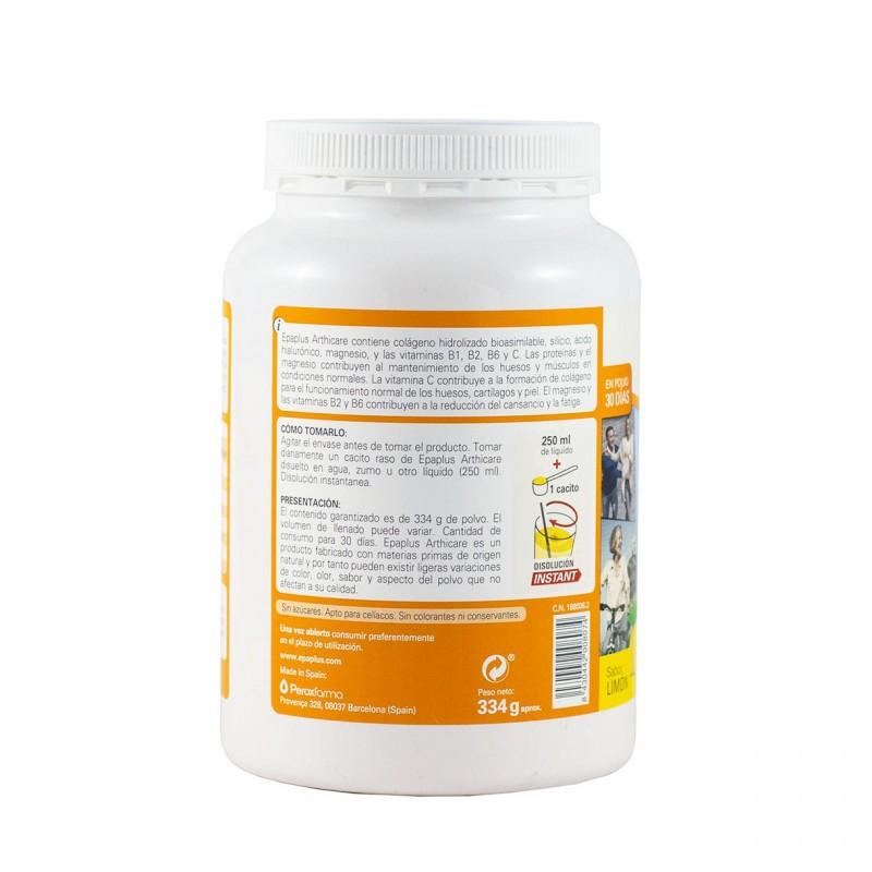 Epaplus arthicare sabor limon 334g - Farmacia Olmos