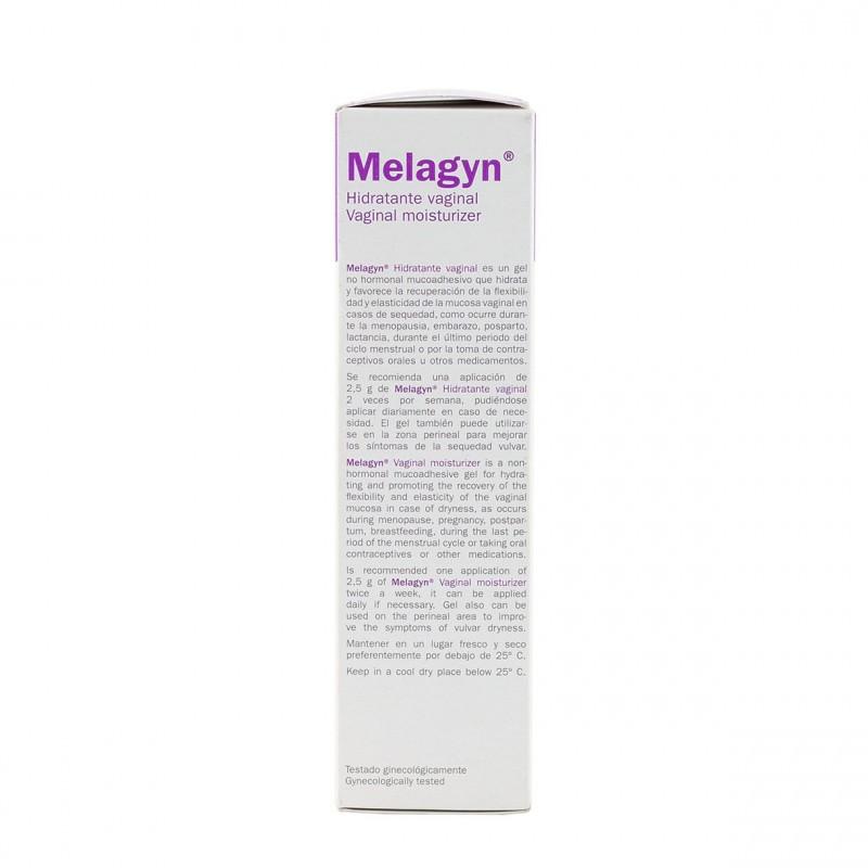 Melagyn hidratante vaginal gel 60g - Farmacia Olmos