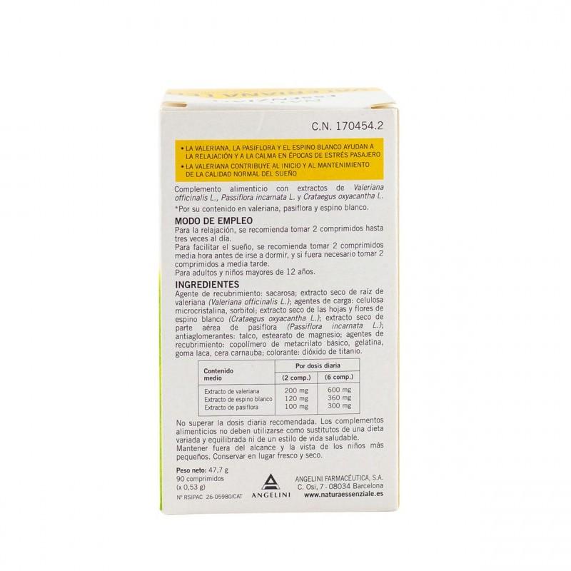 Valeriana leo 90 comprimidos - Farmacia Olmos
