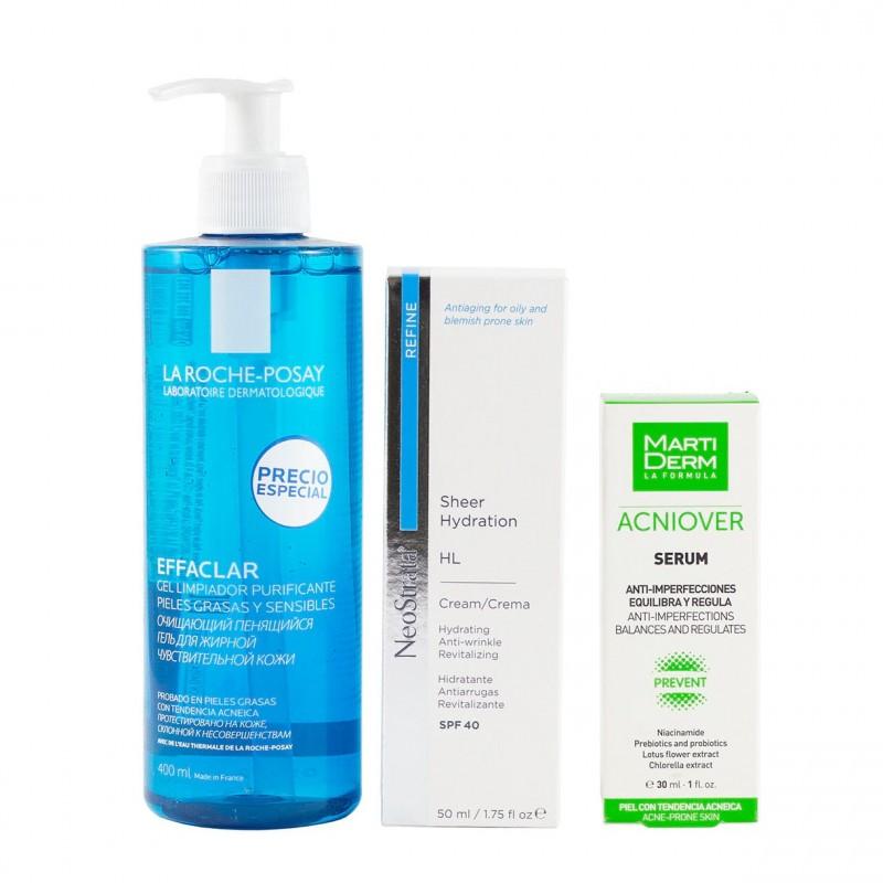Rutina hidratacion piel grasa - Farmacia Olmos