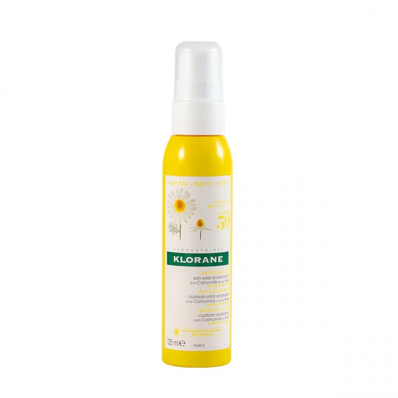 Klorane reflejos dorados spray 200ml - Farmacia Olmos