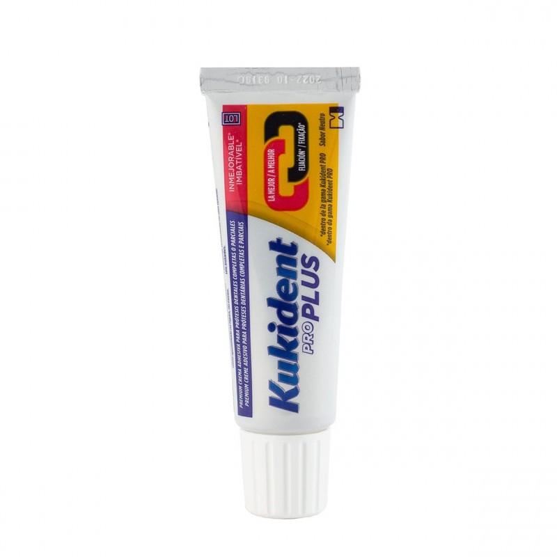 Kukident pro doble accion sabor neutro 40 g-Farmacia Olmos