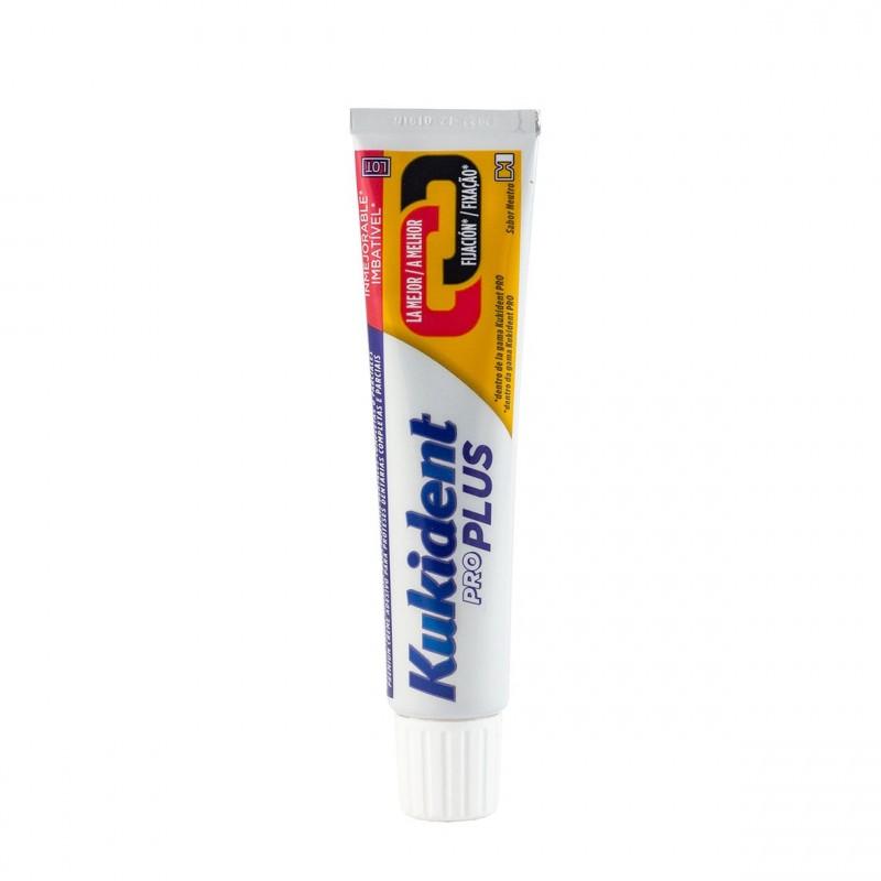 Kukident pro doble accion sabor neutro 60 g - Farmacia Olmos