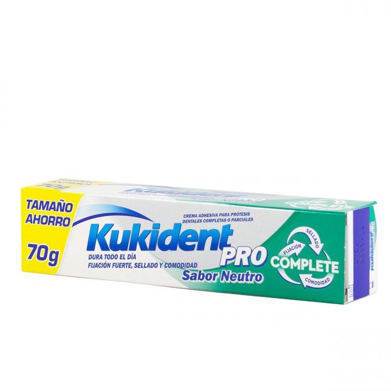 Kukident pro  sabor neutro 70 g - Farmacia Olmos