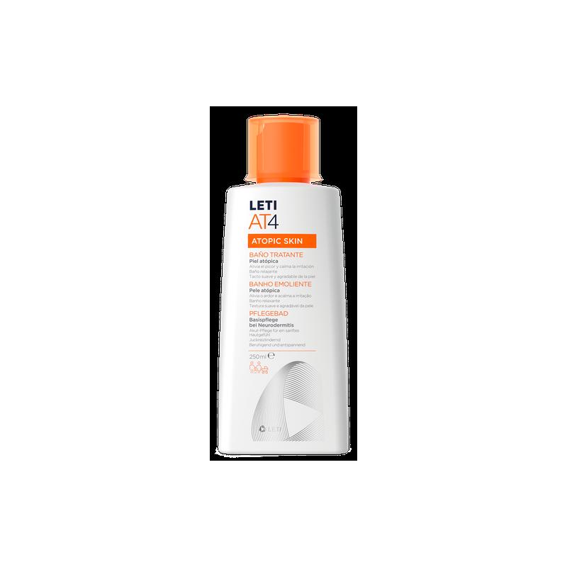 Leti at4 atopic skin baño tratante 200ml-Farmacia Olmos