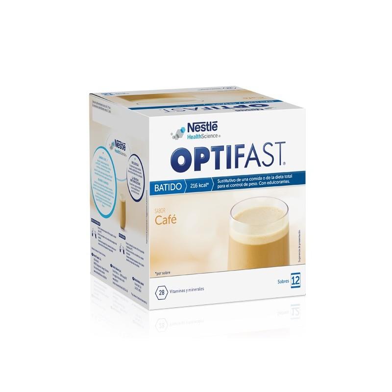 Optifast batido café 12 sobres - Farmacia Olmos