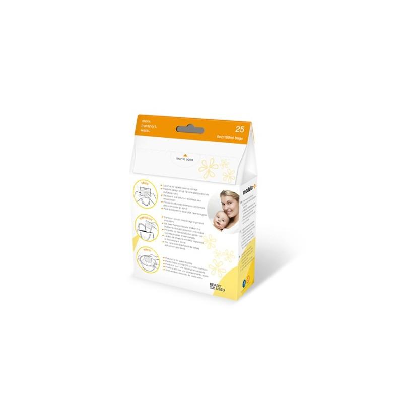 Medela bolsas almacenamiento de leche materna 50 unidades - Farmacia Olmos