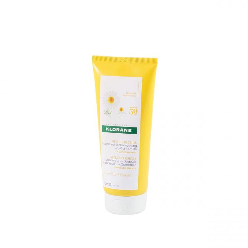 Klorane balsamo reflejos dorados a la camomila 150ml-Farmacia Olmos