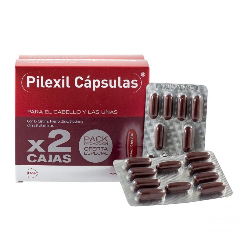 Pilexil anticaida 100 capsulas duplo +regalo champu 100ml-Farmacia Olmos