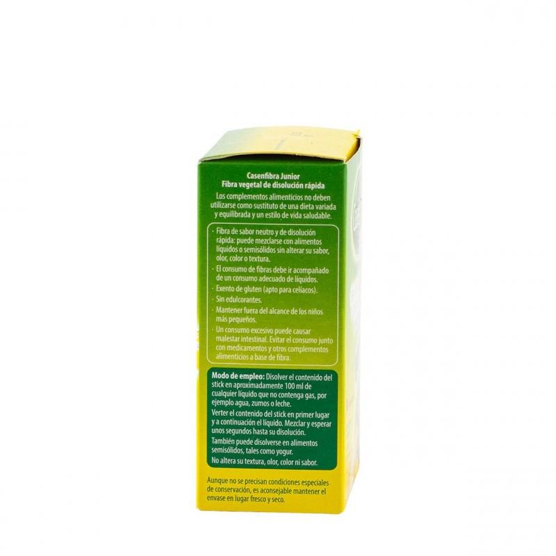 Casenfibra junior fibra vegetal polvo 14 sticks - Farmacia Olmos