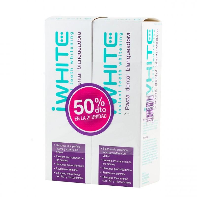 I white pasta dental blanqueadora 75ml pack duplo-Farmacia Olmos