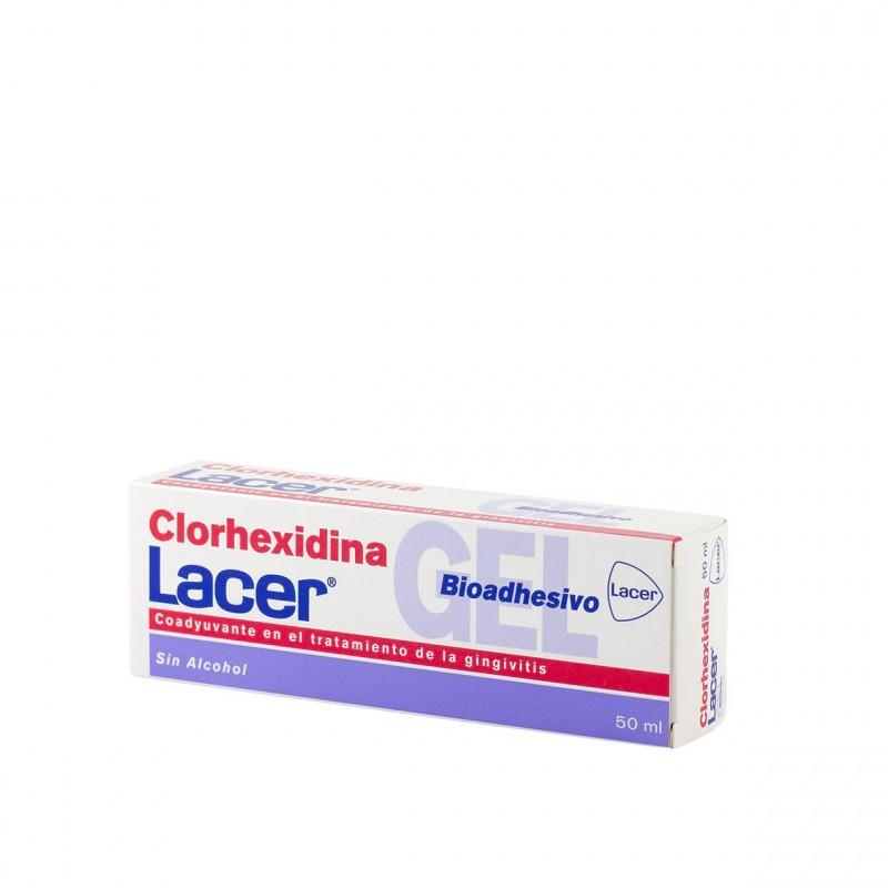 Lacer clorhexidina gel bioadhesivo 50ml-Farmacia Olmos