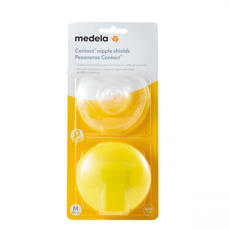 Medela pezonera contact m 2 unidades - Farmacia Olmos