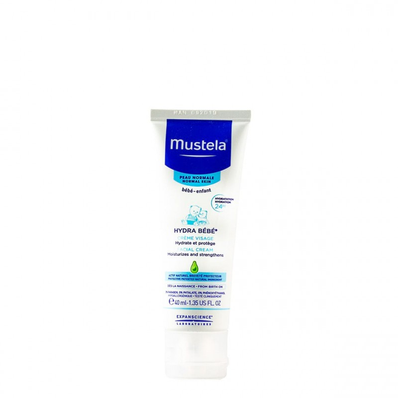 Mustela crema facial 40ml-Farmacia Olmos
