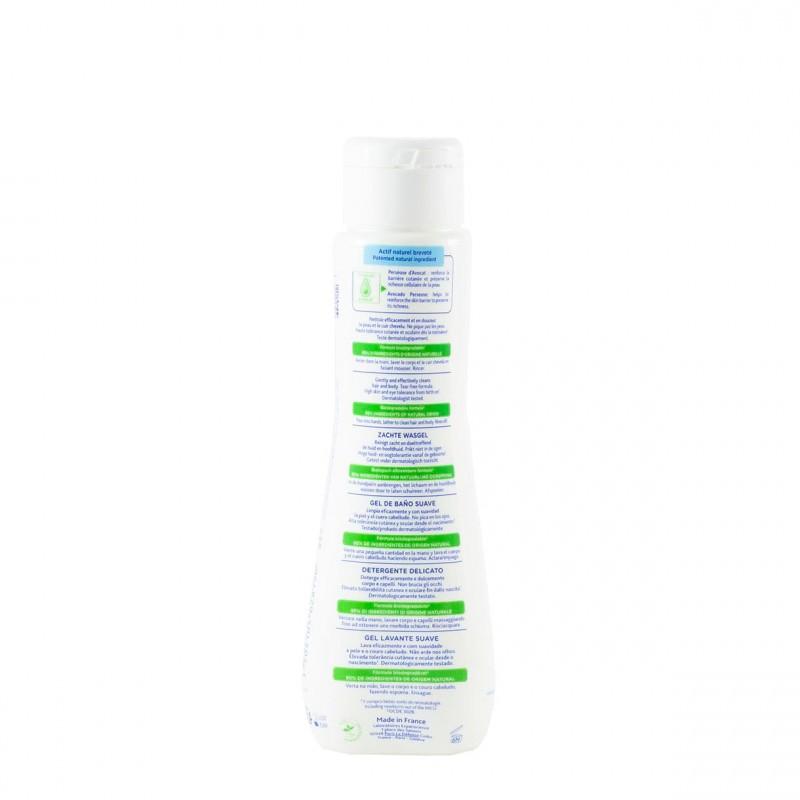 Mustela gel de baño 200ml-Farmacia Olmos