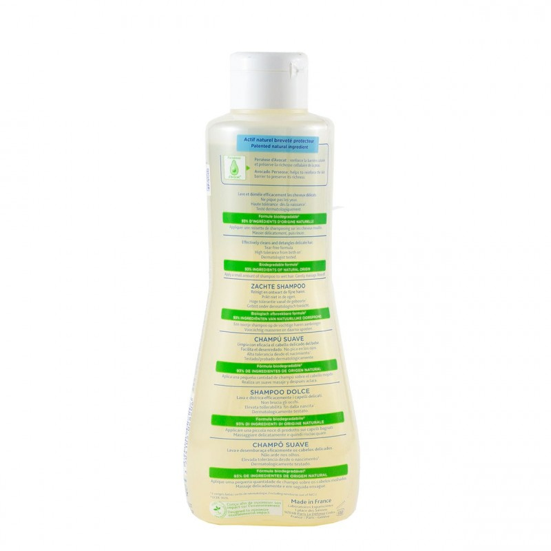 Mustela champu suave 500ml-Farmacia Olmos