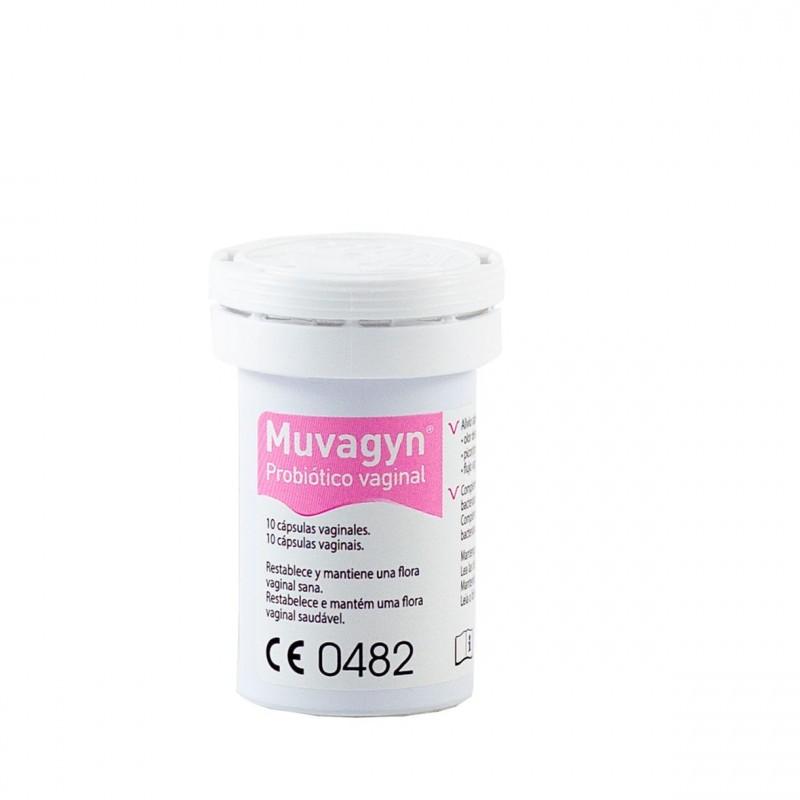 Muvagyn probiotico vaginal 10 capsulas vaginales - Farmacia Olmos