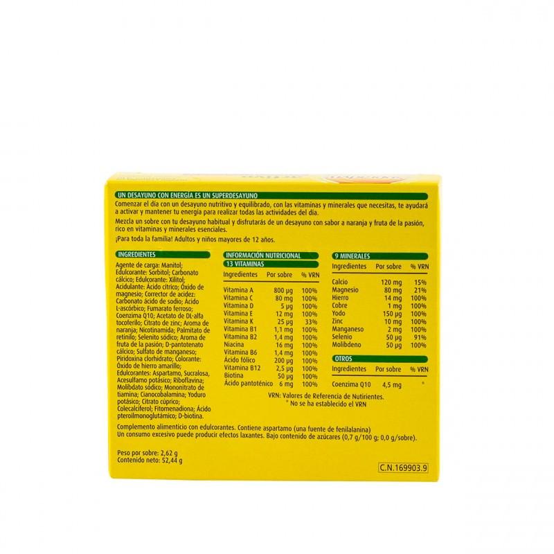 Supradyn activo 20 sobres granulado-Farmacia Olmos