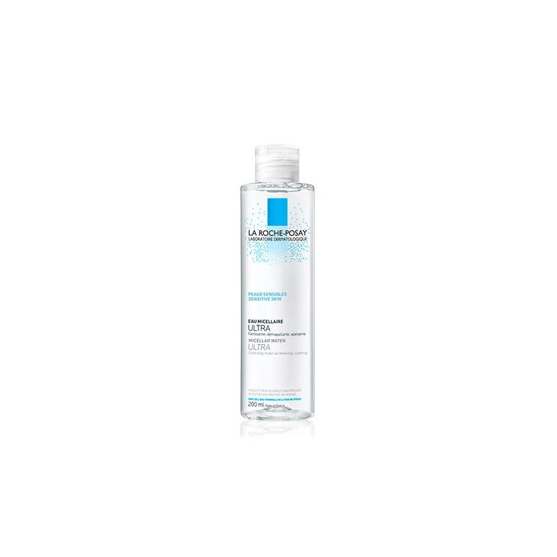 La Roche Posay agua micelar Ultra piel sensible 400 ml- Farmacia Olmos
