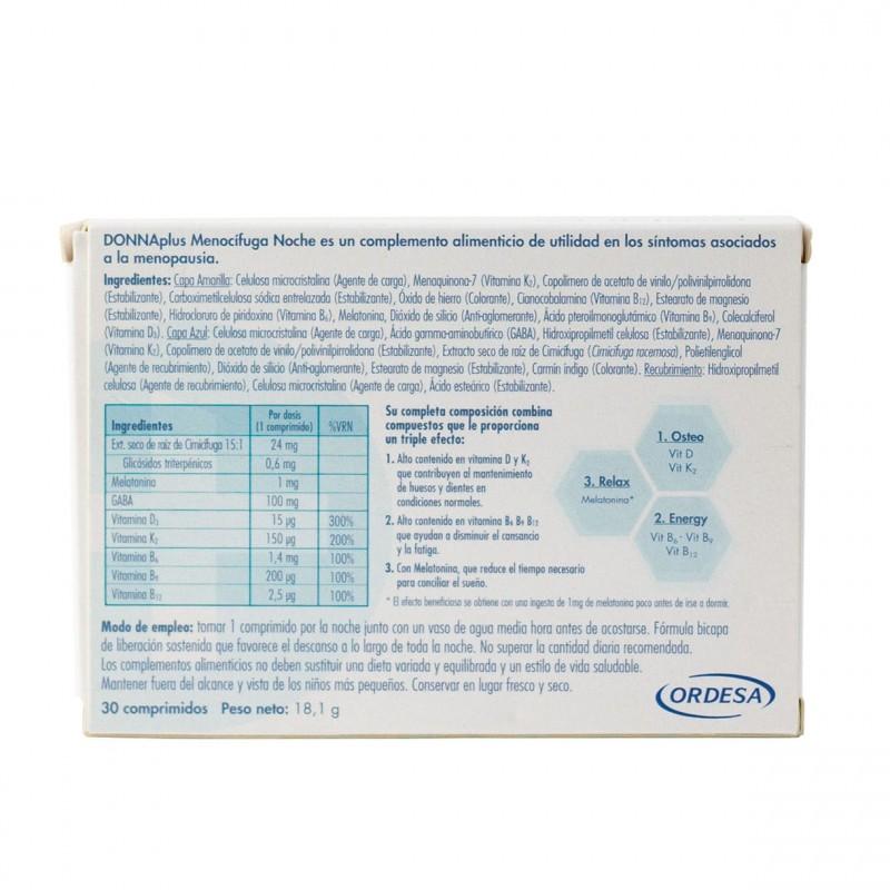 Donna plus menocifuga forte 30 comprimidos- Farmacia Olmos