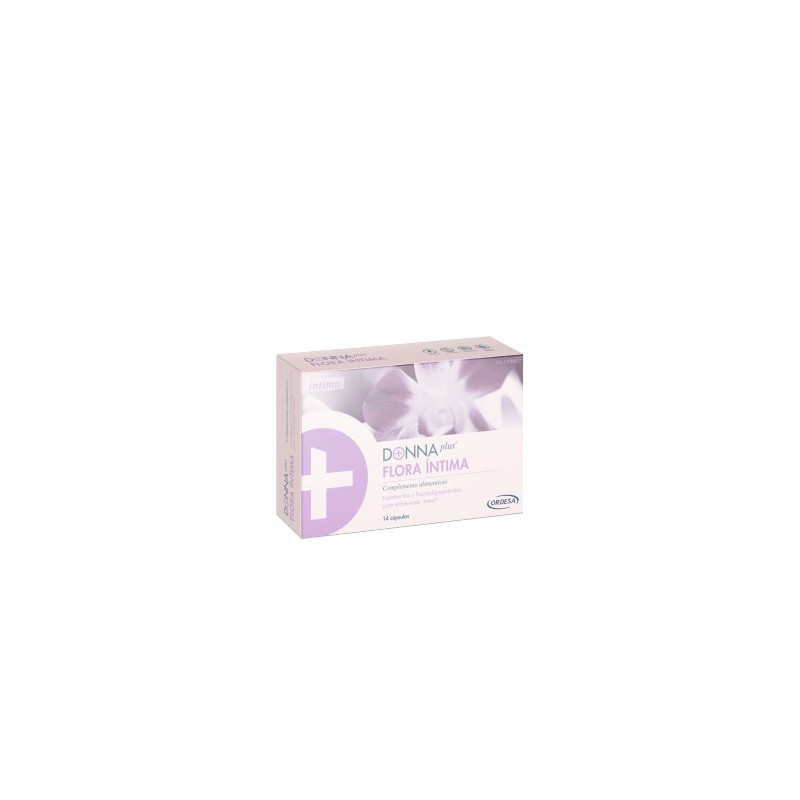 Donna plus flora intima 14 capsulas-Farmacia Olmos
