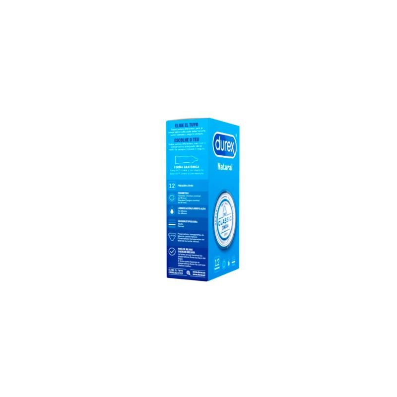 Durex natural 12 preservativos- Farmacia Olmos