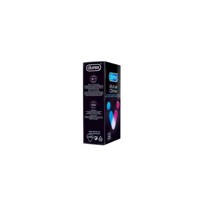 Durex mutual climax 12 preservativos - Farmacia Olmos