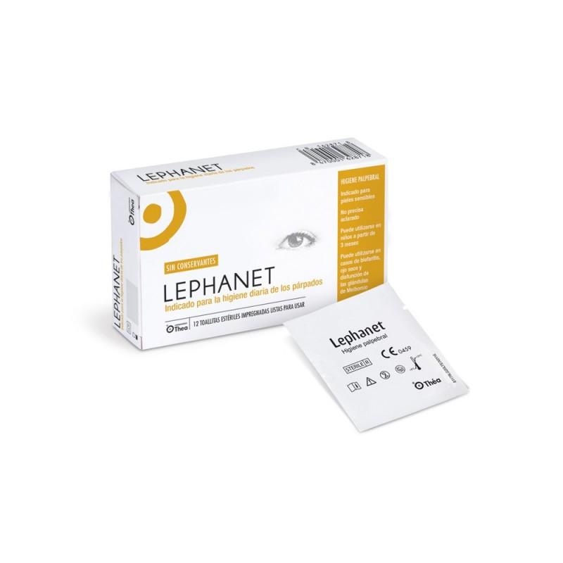 Lephanet toallitas esteriles 12 un-Farmacia Olmos