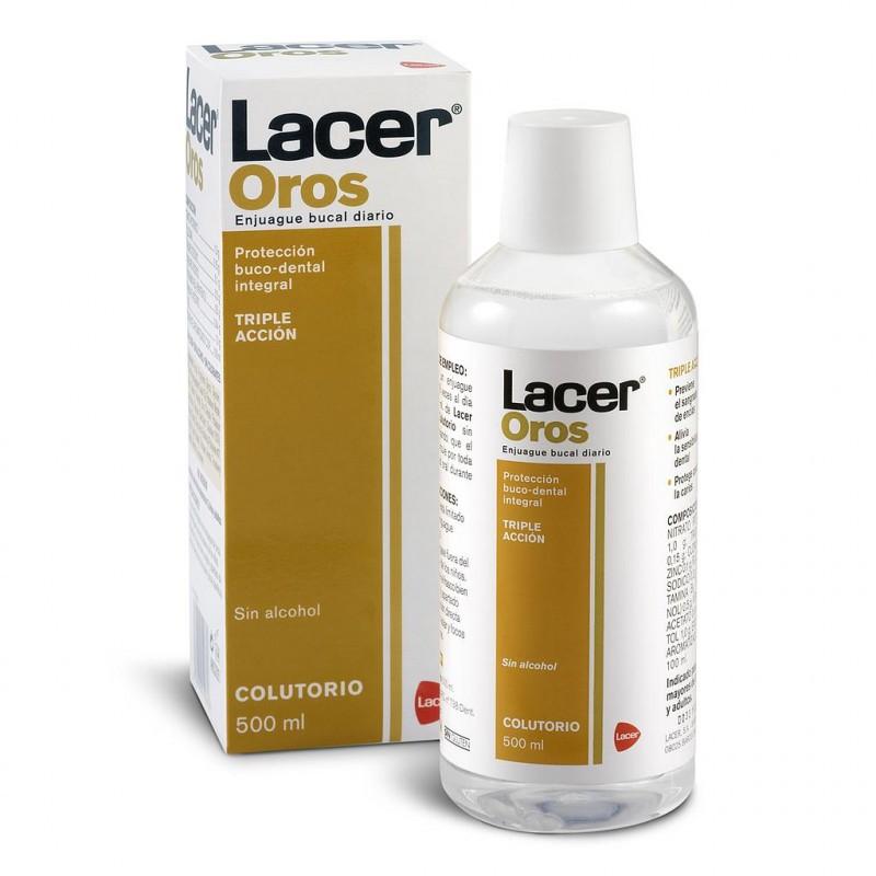 Lacer oros colutorio 500ml-Farmacia Olmos