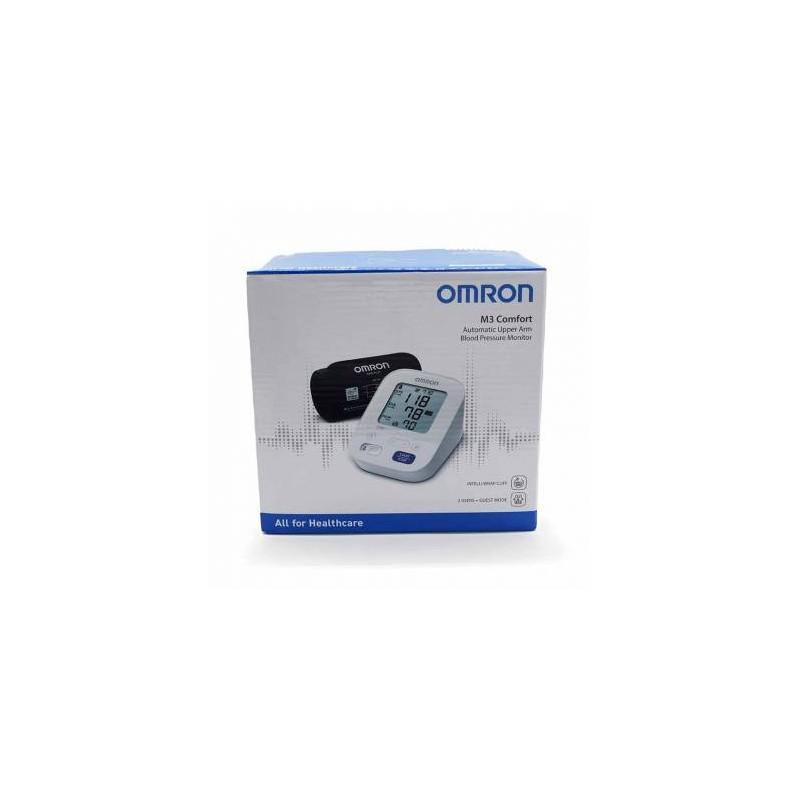 Monitor de presion arterial de brazo omron m3i-Farmacia Olmos