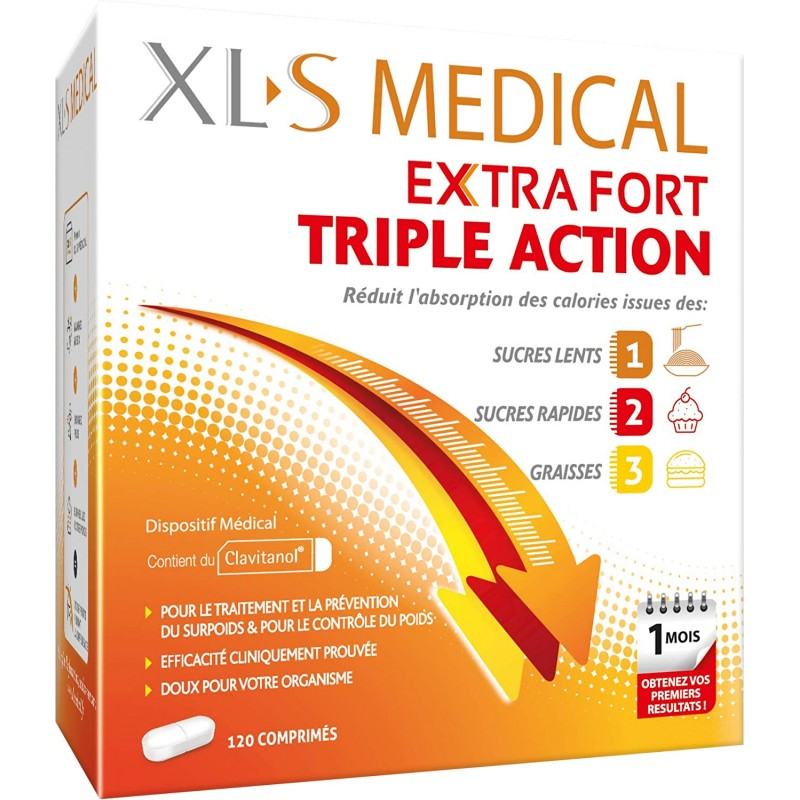 Xls medical  max strength  120 comprimidos-Farmacia Olmos