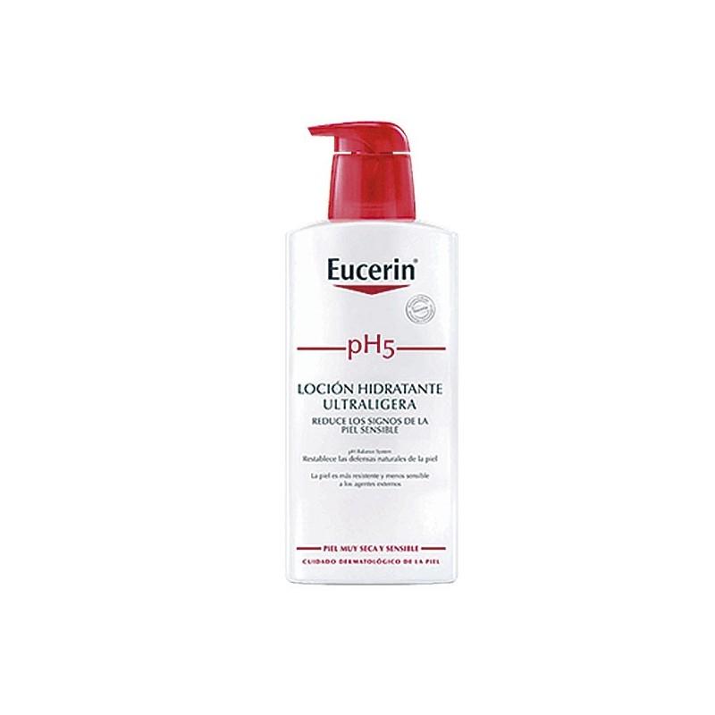 Eucerin piel sensible ph-5 locion  400 ml-Farmacia Olmos