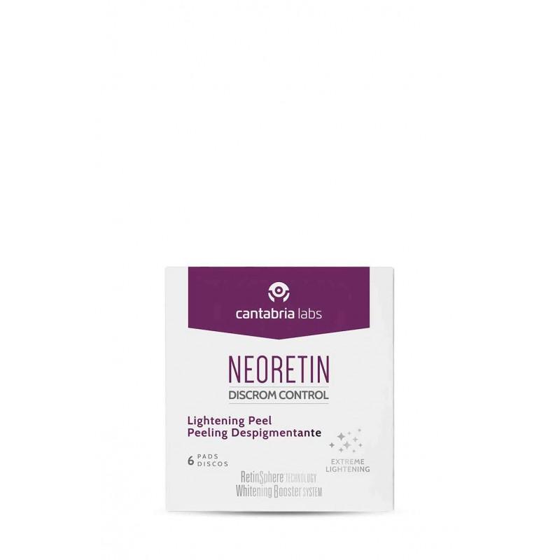 Neoretin discrom control peeling despigmentante  6 discos x 6 ml-Farmacia Olmos
