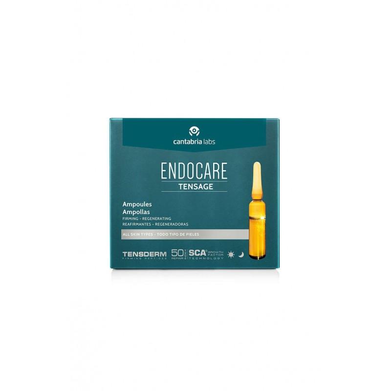 Endocare Tensage ampollas  10 amp 2 ml - Farmacia Olmos