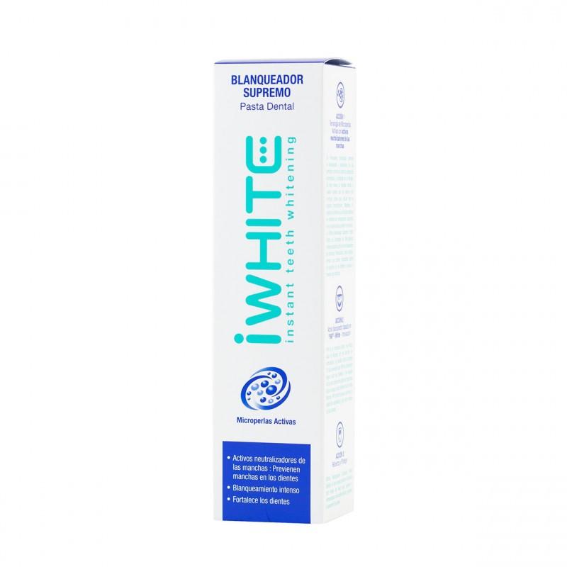 I white pasta dental blanqueadora 75ml-Farmacia Olmos